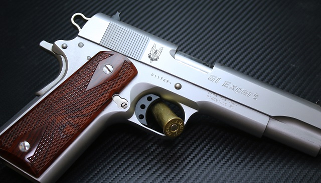 British Army Engraved Para 1911 Pistol