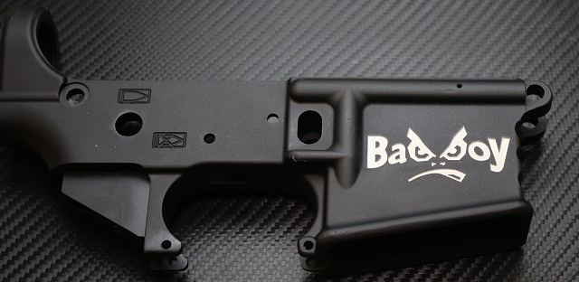 BadBoy AR15 Lower Engraved