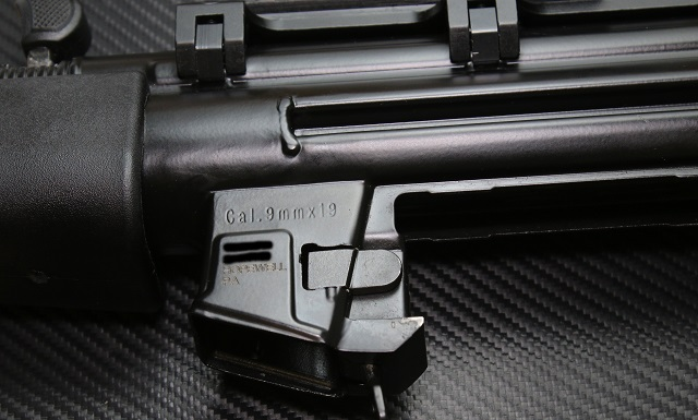MP5 Clone with SBR engraving for NFA form 1